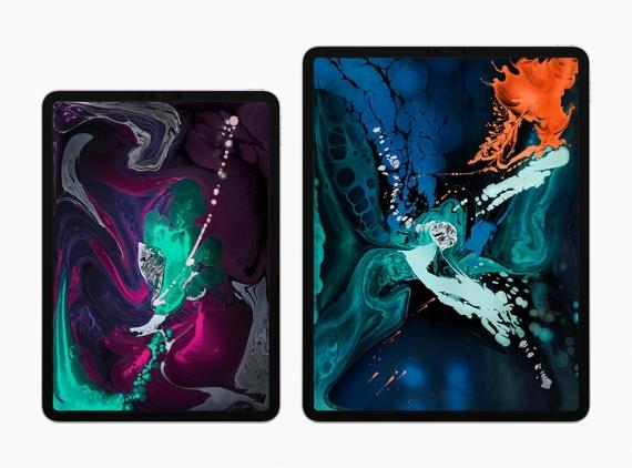 Apple представила новые iPad Pro с Face ID и узкими рамками1