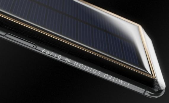 Caviar начала продажи iPhone X с солнечной батареей5