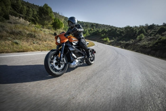 Harley-Davidson представила электрический мотоцикл LiveWire1