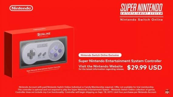 Nintendo представила ретро-контроллер для Switch1