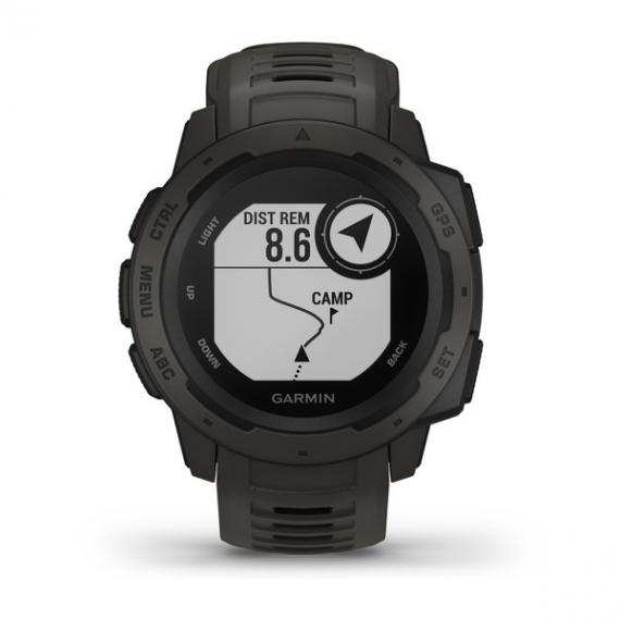 Garmin Instinct: GPS и ударопрочный корпус3