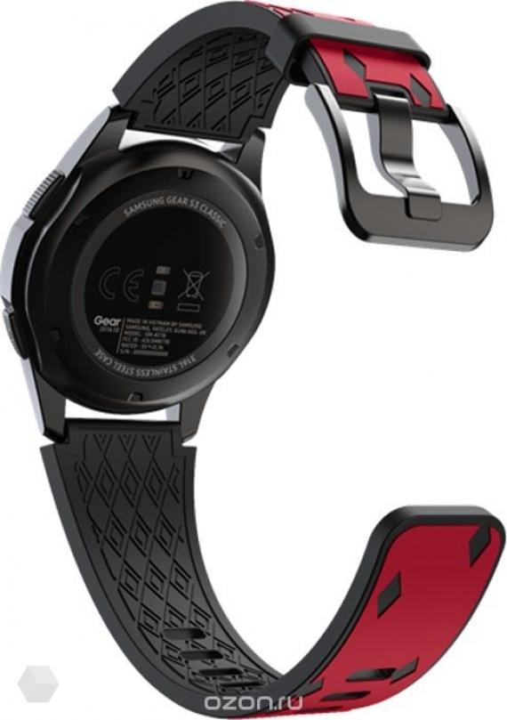 Samsung представила футбольную версию часов Gear S3 Spartak Edition3