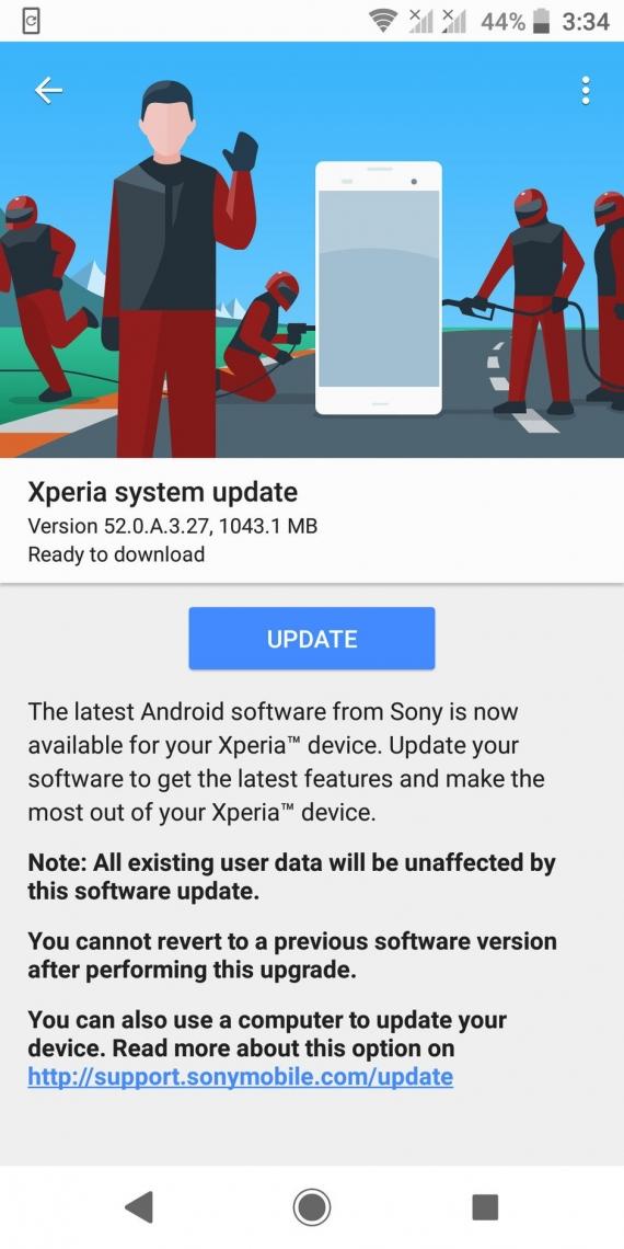 Xperia XZ2 и XZ2 Compact получили Android Pie1