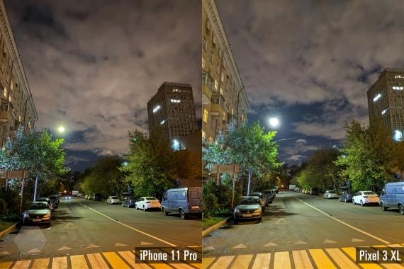 Сравнение ночных снимков iPhone 11 Pro с флагманами конкурентов8