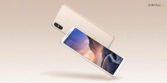 Презентован фаблет Xiaomi Mi Max 3 с гигантским аккумулятором2