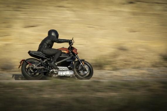 Harley-Davidson представила электрический мотоцикл LiveWire2