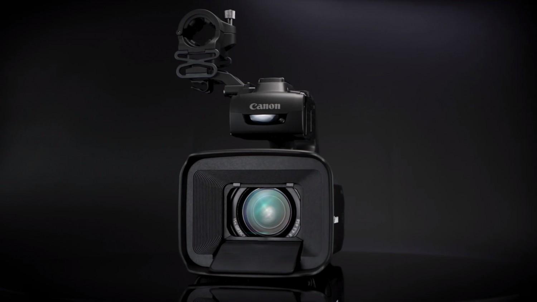 Canon представила три профессиональных видеокамеры серии XA