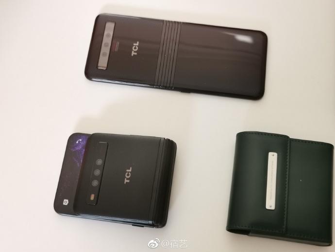 TCL выпустит сгибающиеся мобильные телефоны