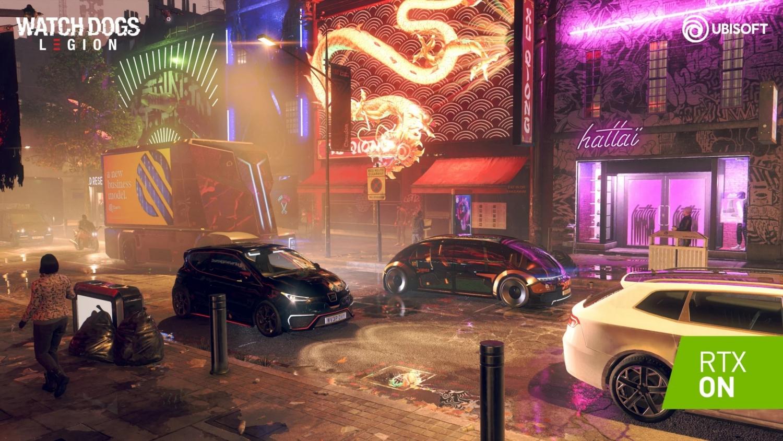 Nvidia показала футуристический Watch Dogs: Legion и Minecraft с рейтрейсингом3