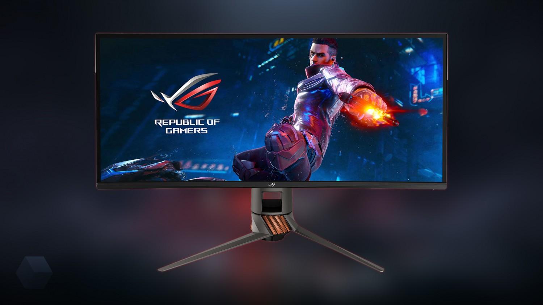 ASUS анонсировала игровой монитор ROG Swift PG349Q с изогнутым экраном