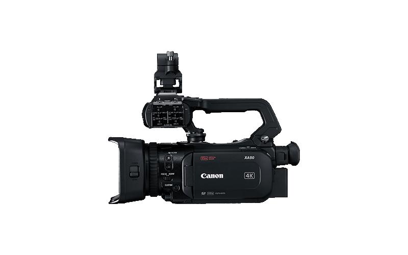 Canon представила три профессиональных видеокамеры серии XA5