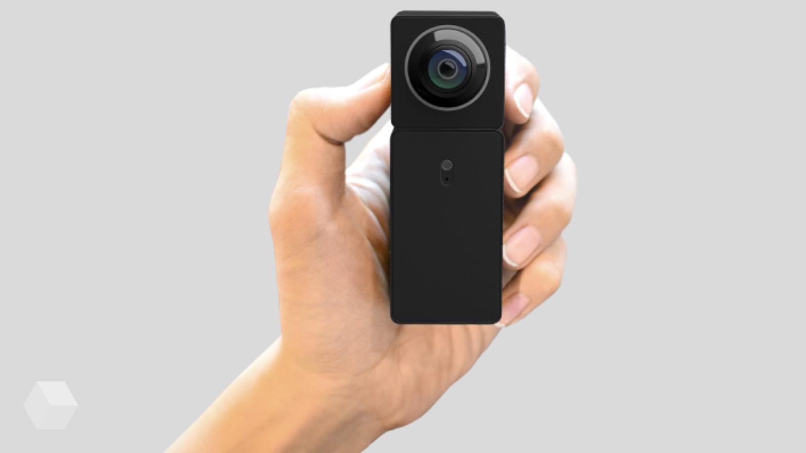 На Youpin собирает средства IP-камера с VR-видео