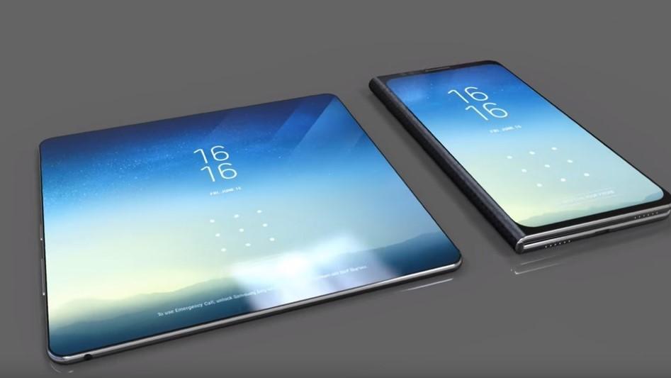 Складывающийся смартфон Samsung обойдётся в две тысячи долларов