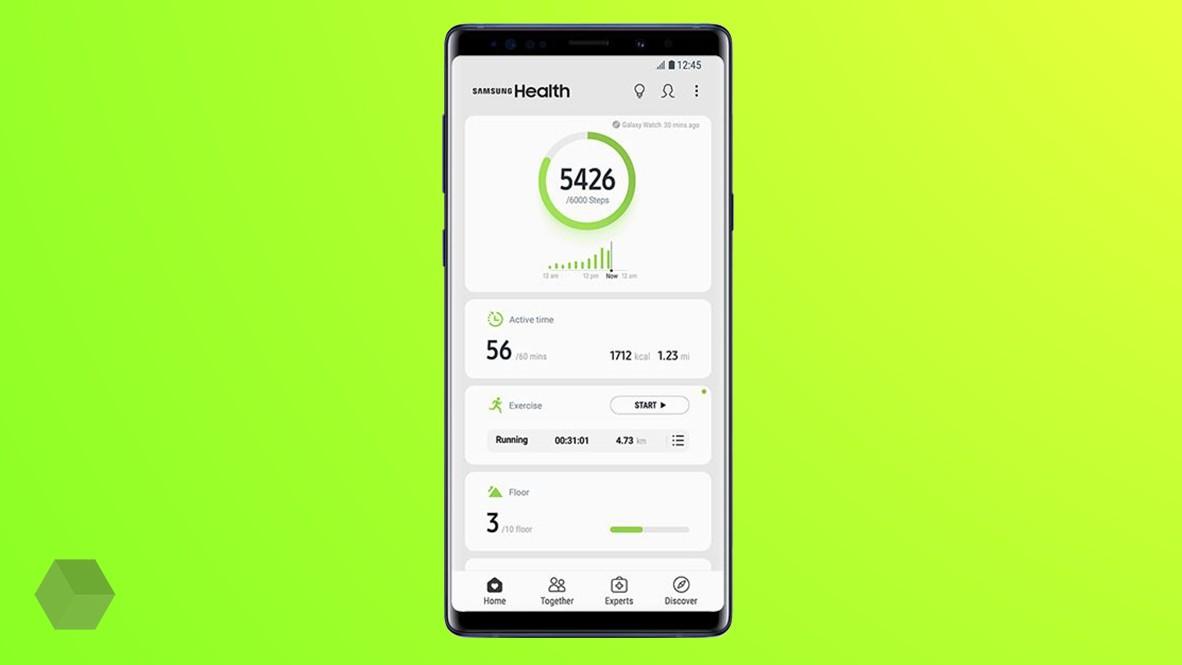 Samsung Health 6.0: новый дизайн и социальные «фишки»