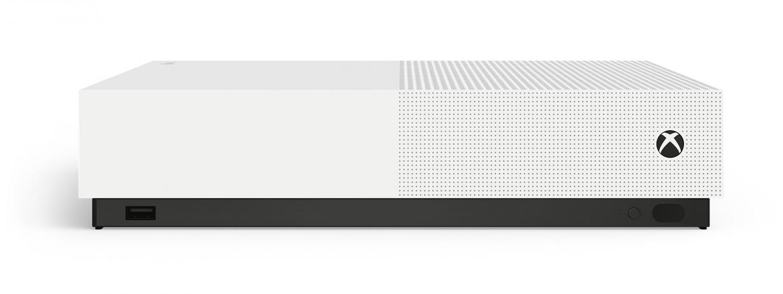 Xbox One S без оптического привода представлена официально1