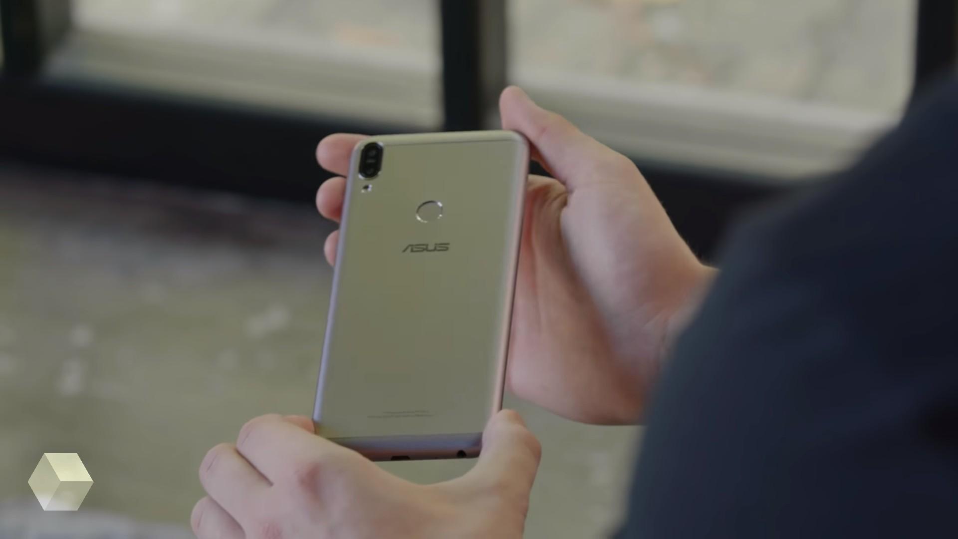 Внешний вид ASUS ZenFone Max Pro M2 стал известен из видео