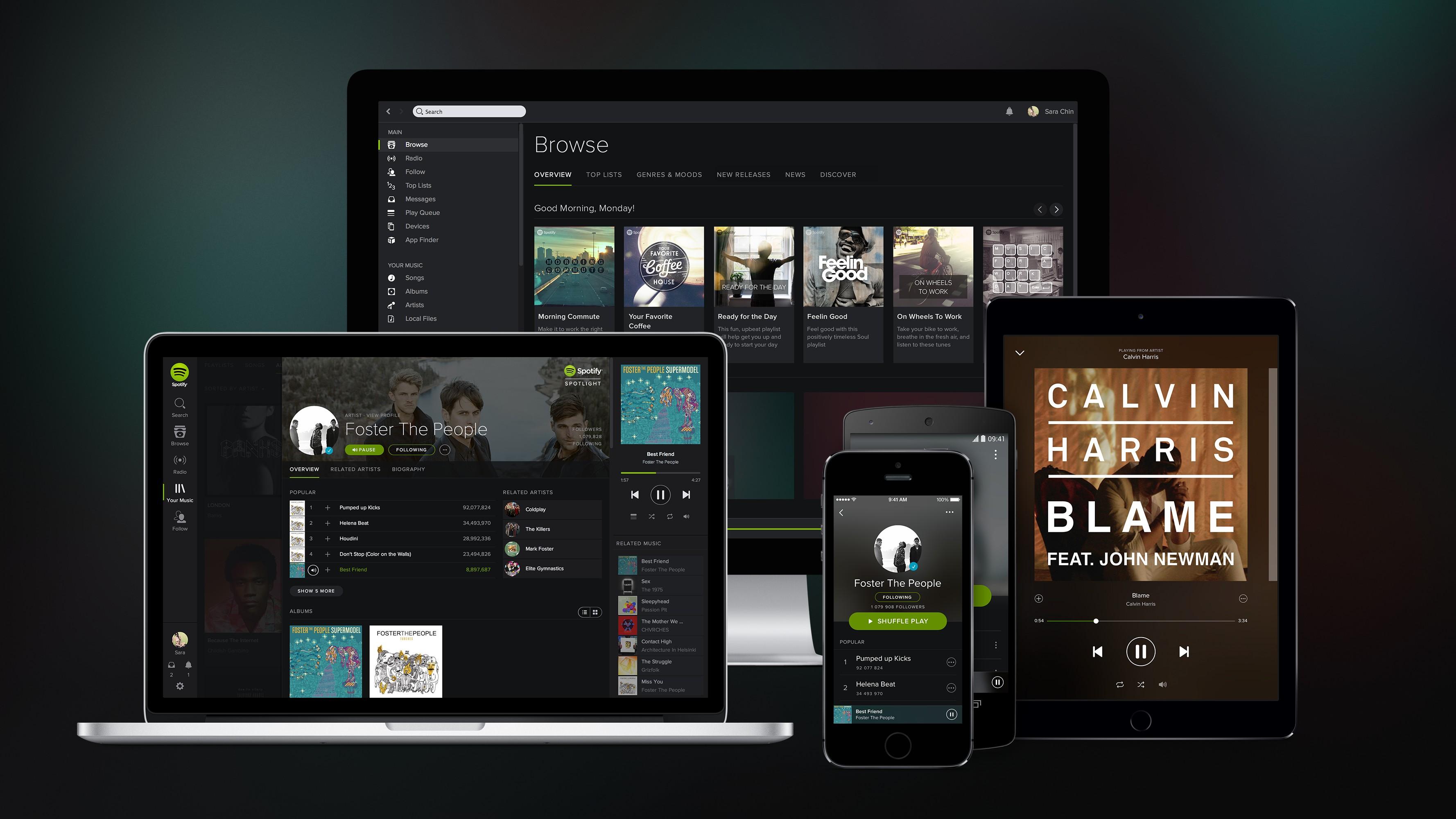 Spotify наконец-то появится в России?