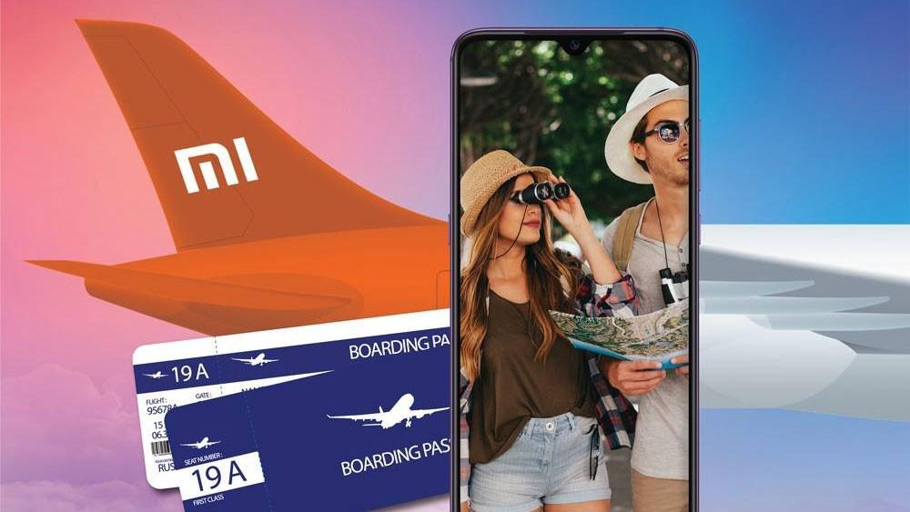 Xiaomi дарят билеты на самолёт за предзаказ флагмана Mi 9