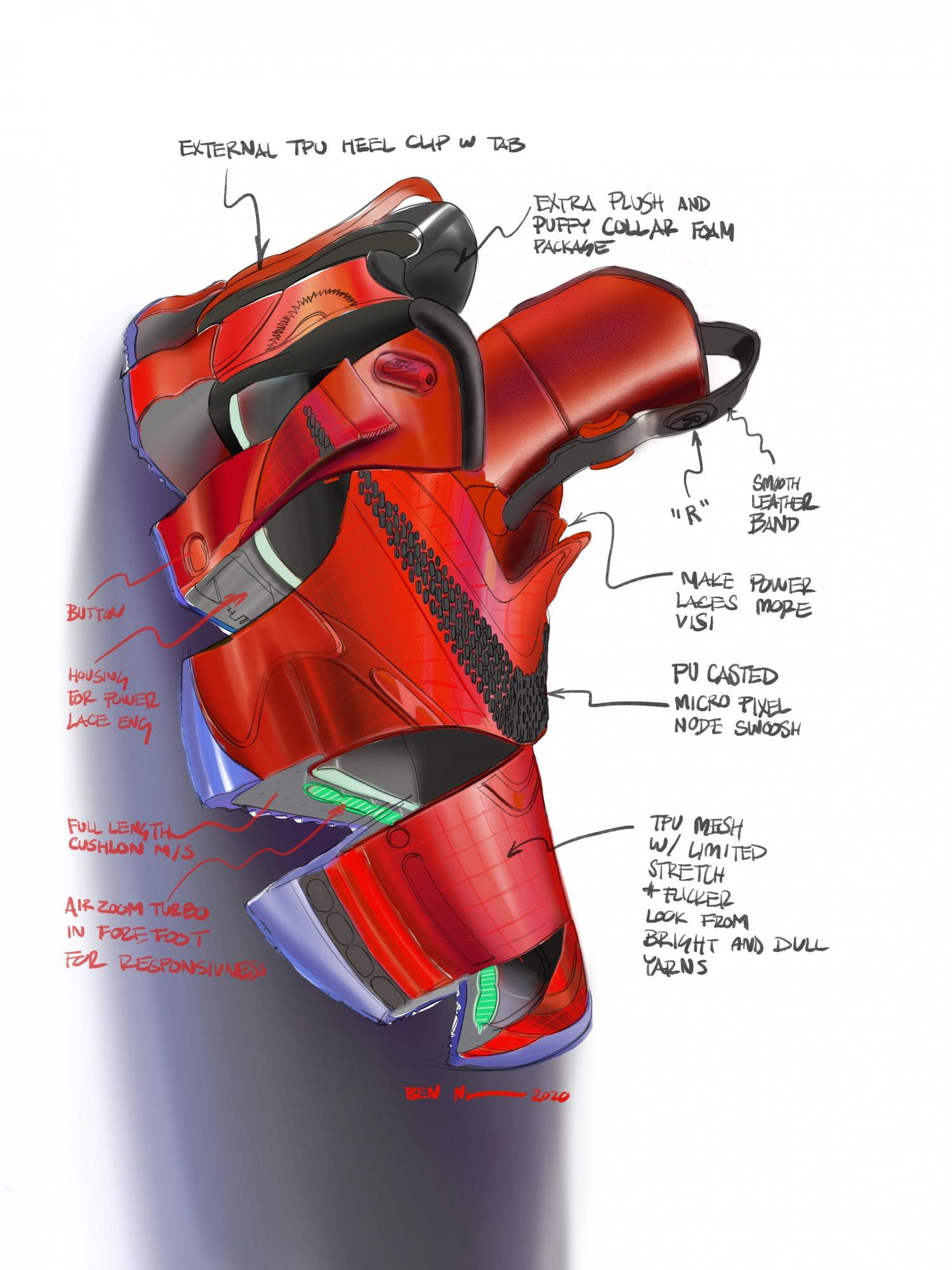 Nike представила второе поколение умных кроссовок Adapt BB3