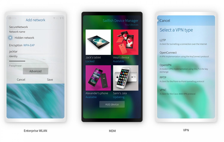 Sailfish OS сменила дизайн и получила функции для корпоративных пользователей1