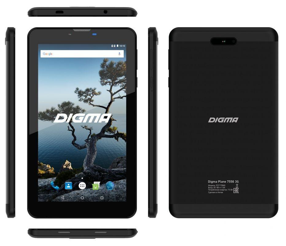 DIGMA презентовала бюджетный планшет с LTE1