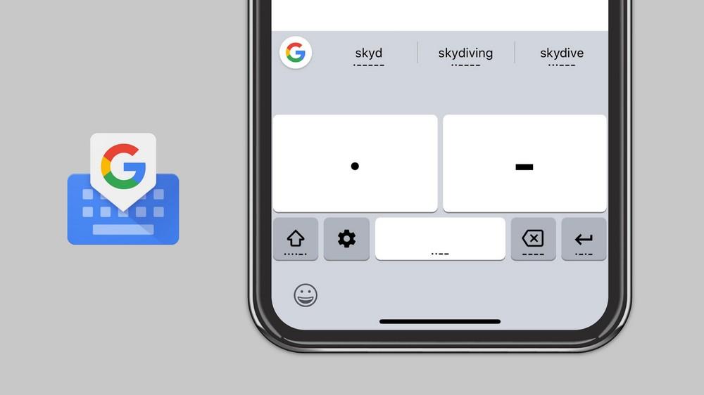 Азбука Морзе появилась в iOS-версии Gboard