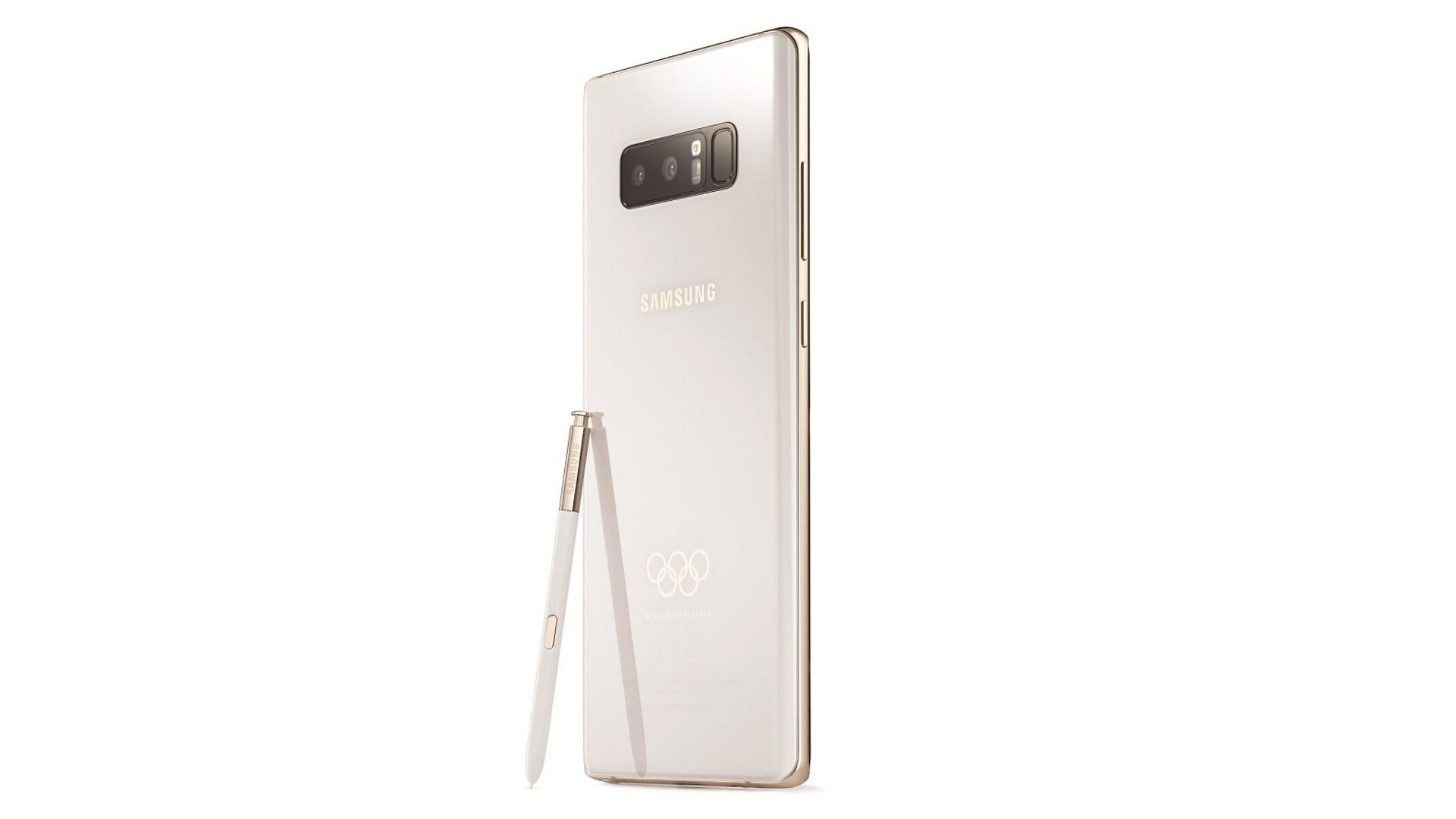 Samsung выпустит ограниченное издание Galaxy Note 8 Winter Olympics edition