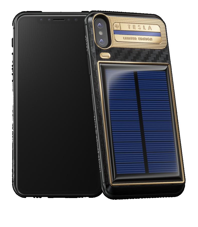 Caviar начала продажи iPhone X с солнечной батареей1