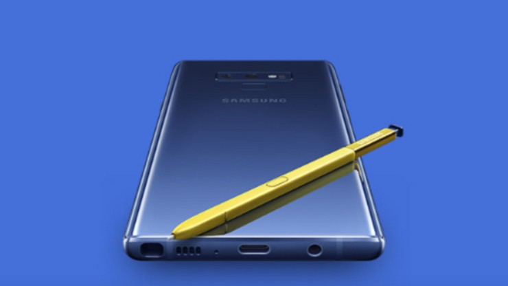 Коробка Samsung Galaxy Note 9 и цены в России