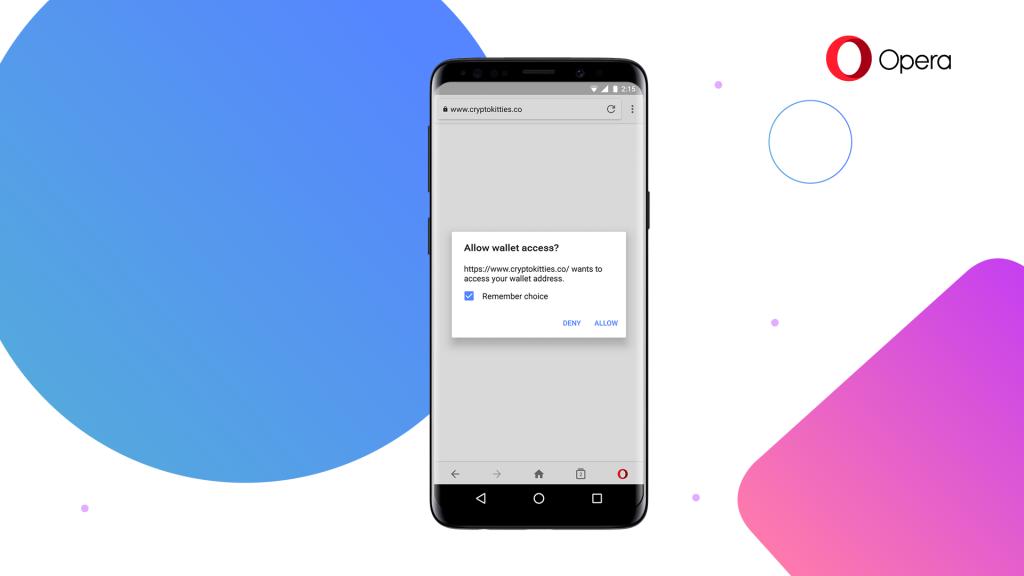 Opera встроит криптокошелёк в мобильный браузер3