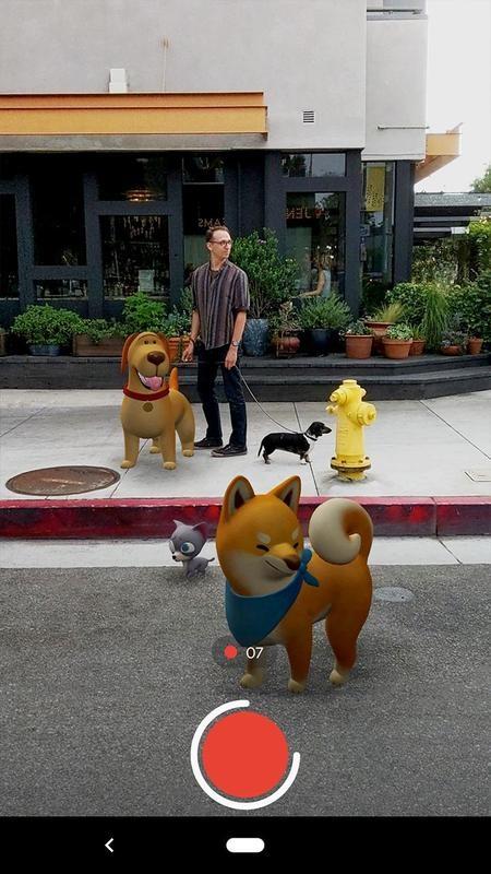 AR-стикеры от Google стали доступны для смартфонов с поддержкой ARCore2