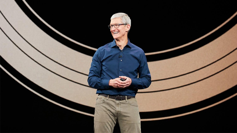 Трансляция новой презентации Apple уже началась, но весь зал пуст