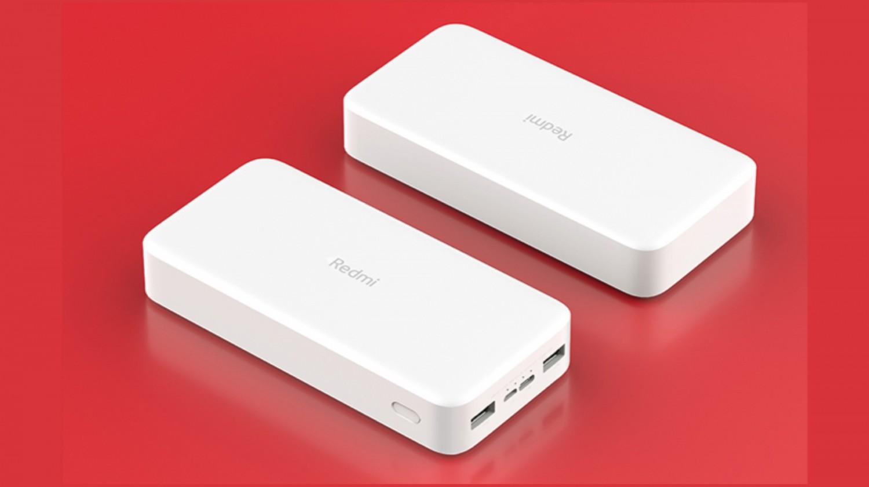 Redmi представила внешние аккумуляторы на 10 000 и 20 000 мАч