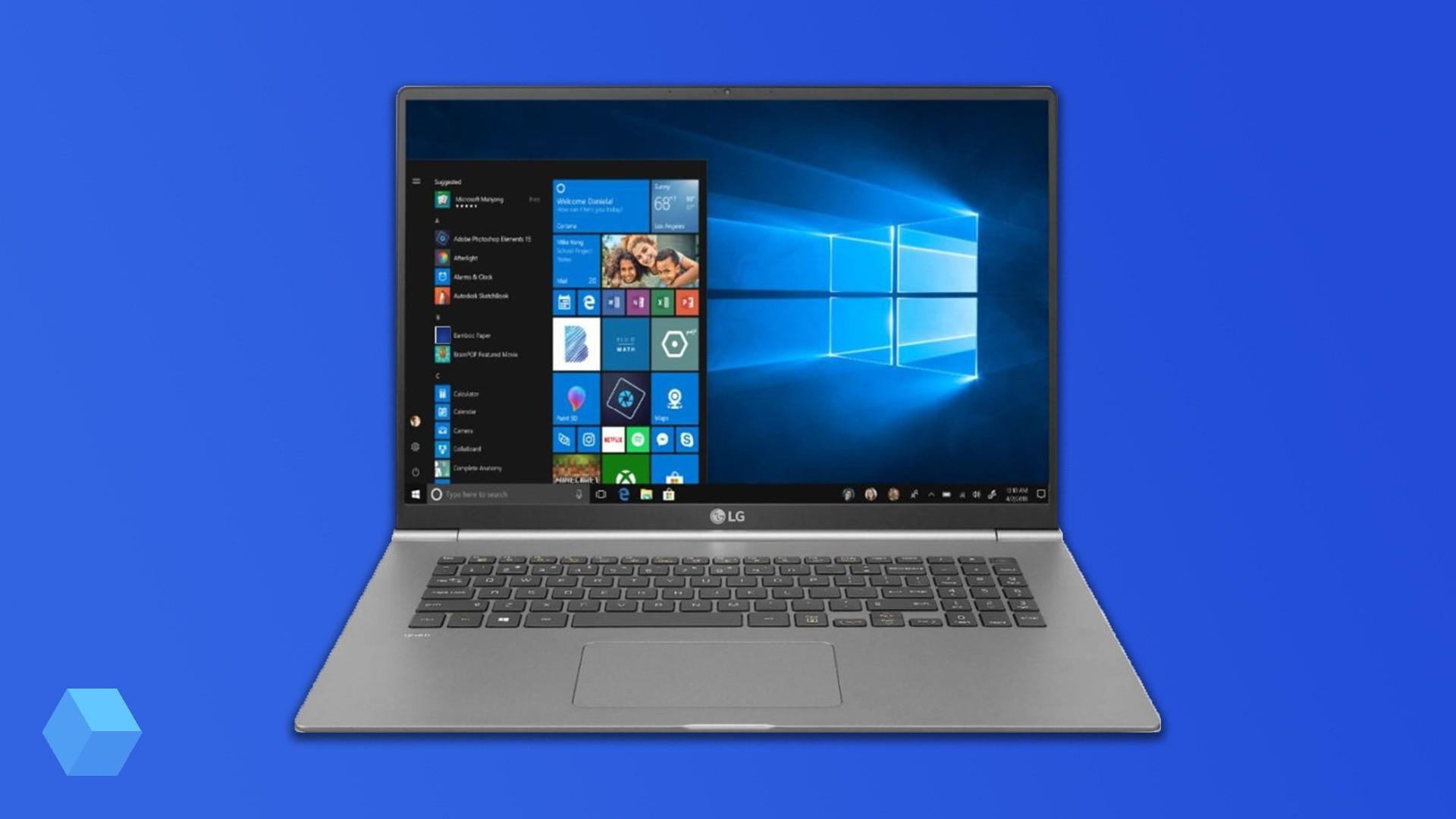 Ультратонкий ноутбук Gram 17 от LG