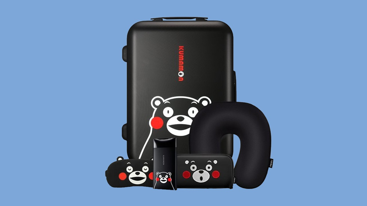 Набор для путешествий с мишкой Кумамон от Meizu