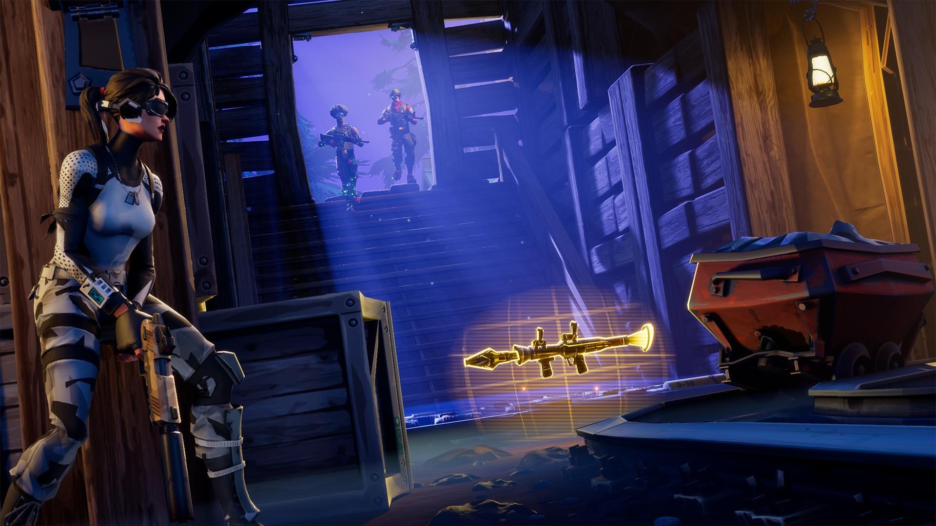 Новый режим Fortnite Battle Royale ускорил игровой процесс