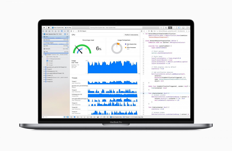 Apple обновила процессоры и клавиатуру MacBook Pro2