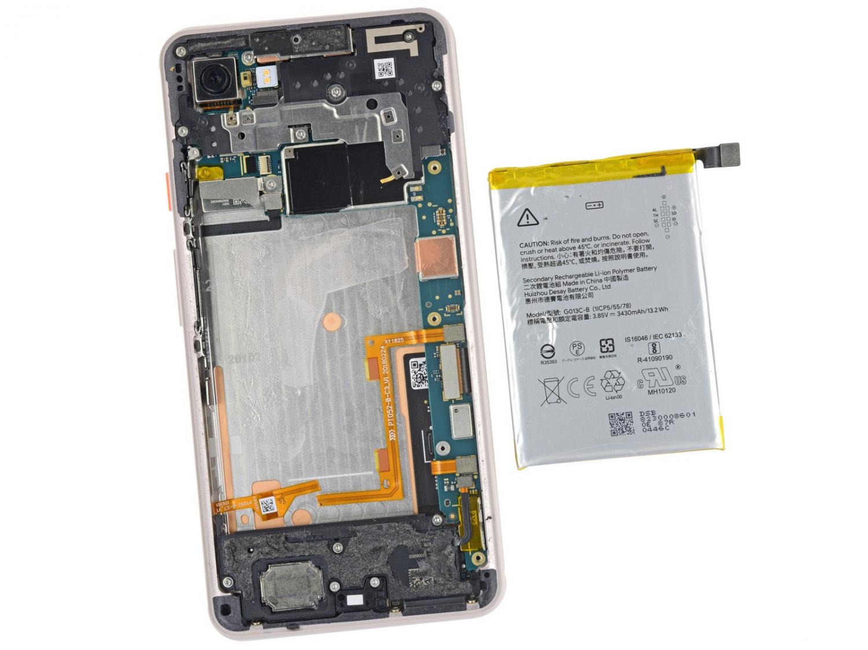iFixit: Google Pixel 3 XL использует дисплей от Samsung3