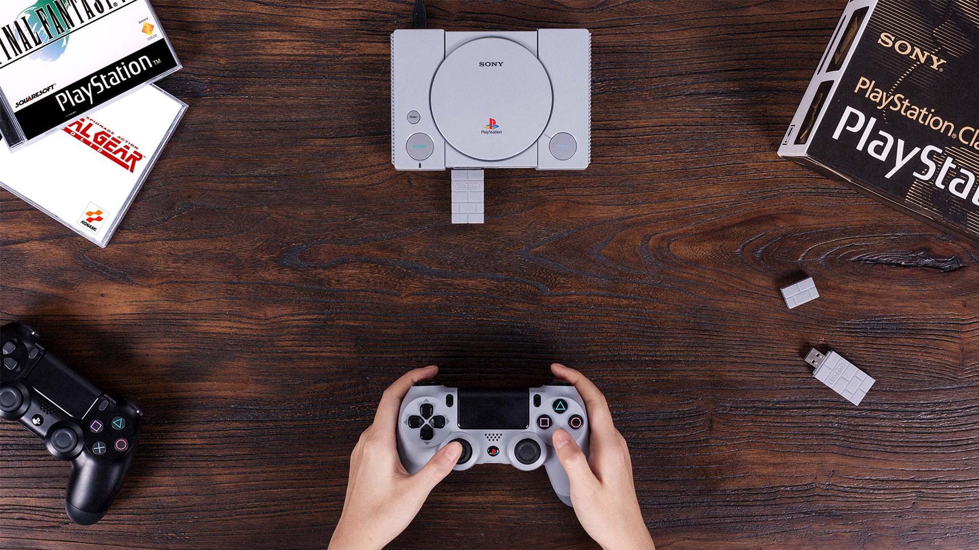 PlayStation Classic получила поддержку беспроводных контроллеров