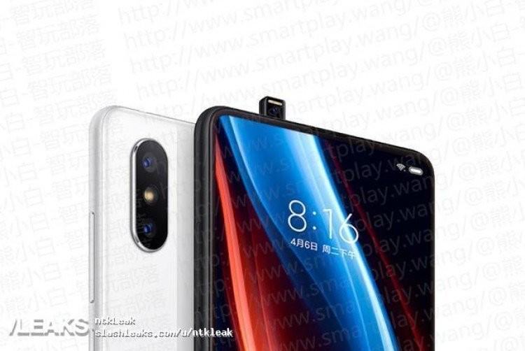 Слух: фронтальная камера Xiaomi Mi Mix 3 будет выезжать из корпуса4