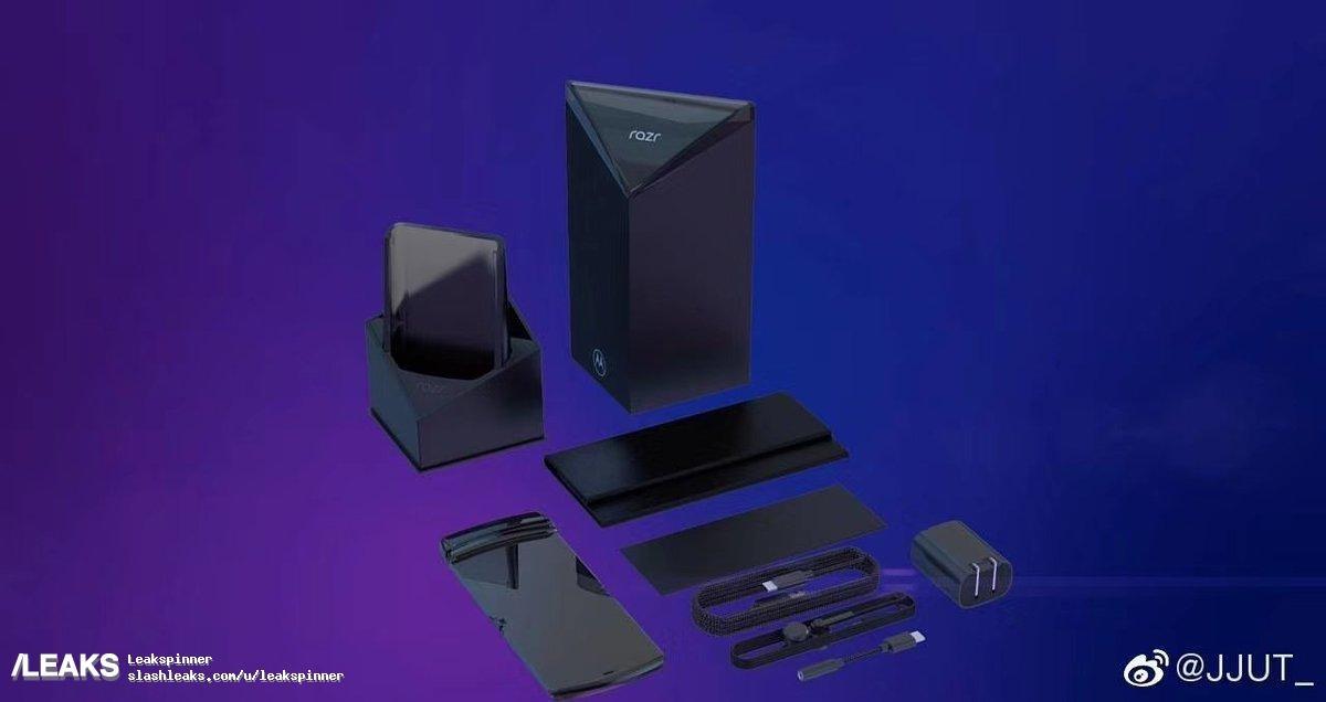 Первые изображения складной «раскладушки» Motorola RAZR3