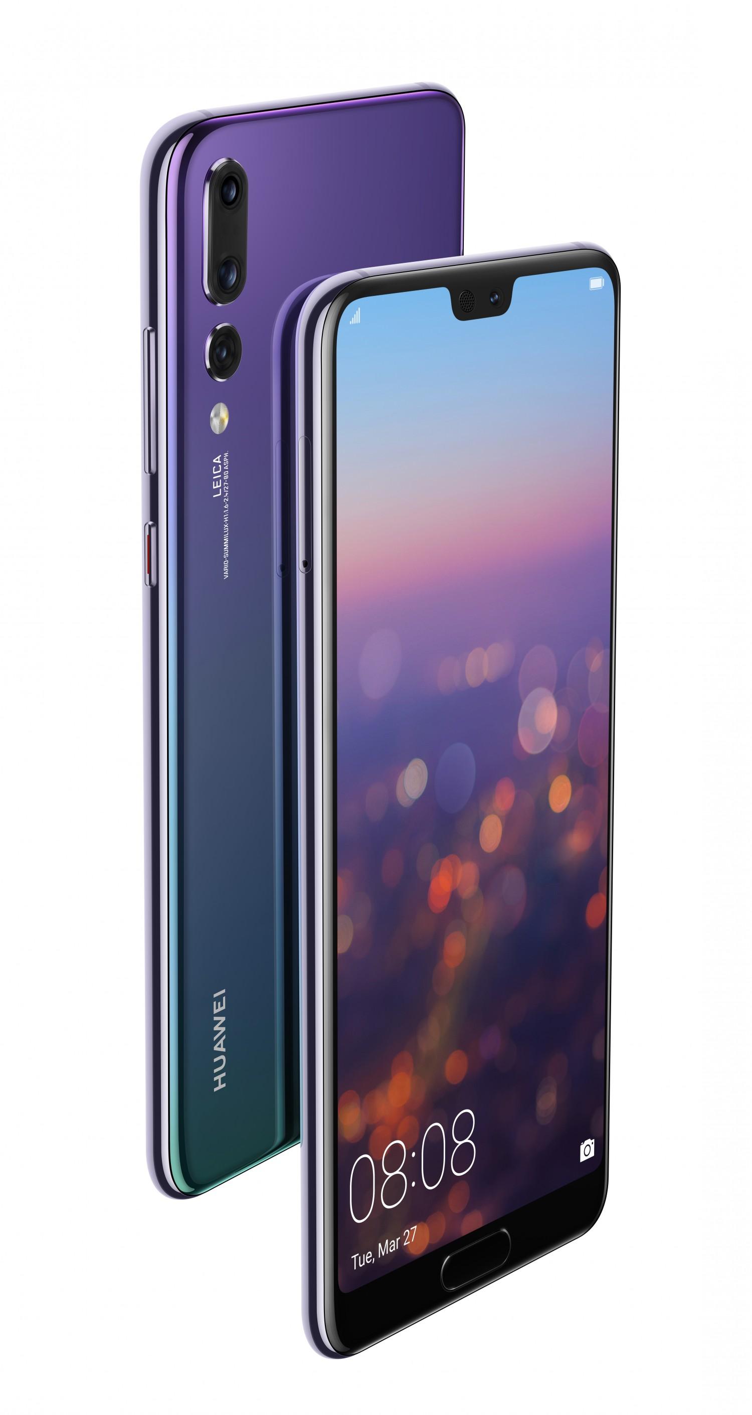Сумеречная расцветка Huawei P20 Pro появилась в России1