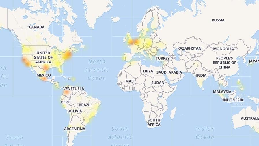 Facebook, Instagram и WhatsApp глючат во всём мире, включая Россию