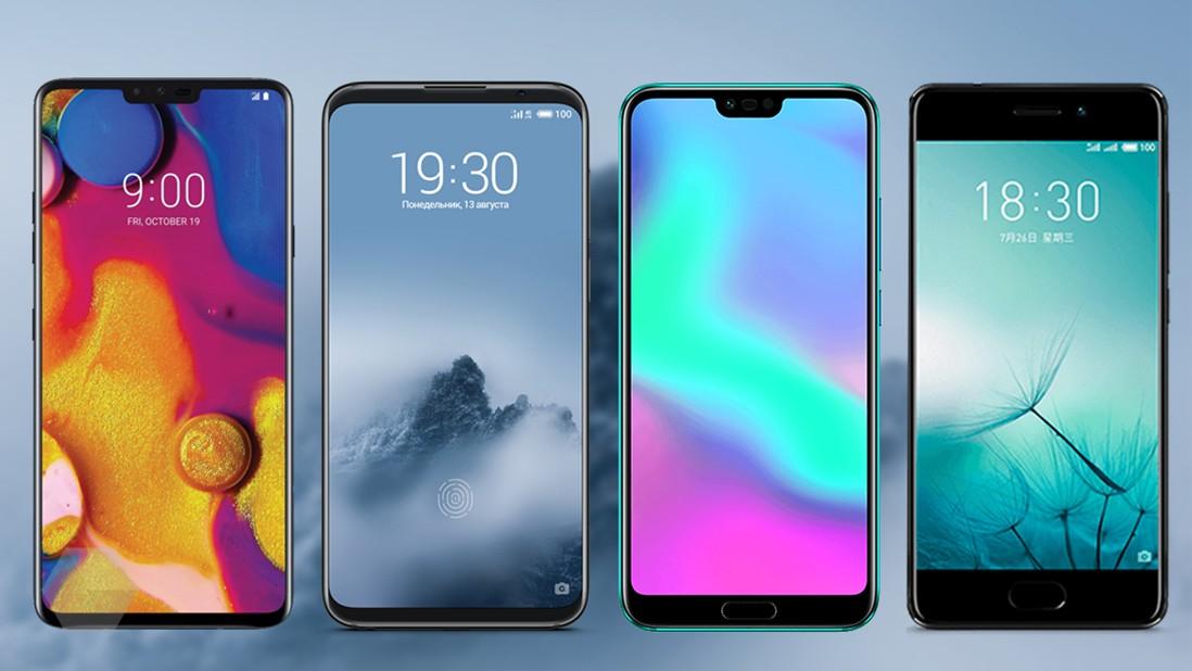 Четвёрка музыкальных смартфонов на любой карман
