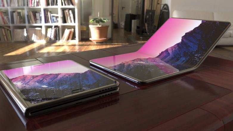 Подробности о дисплее складного смартфона Samsung