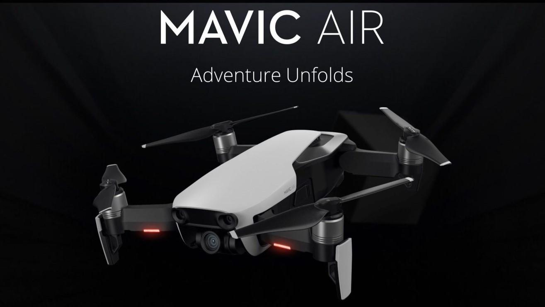 DJI представили складной 4K-дрон Mavic Air
