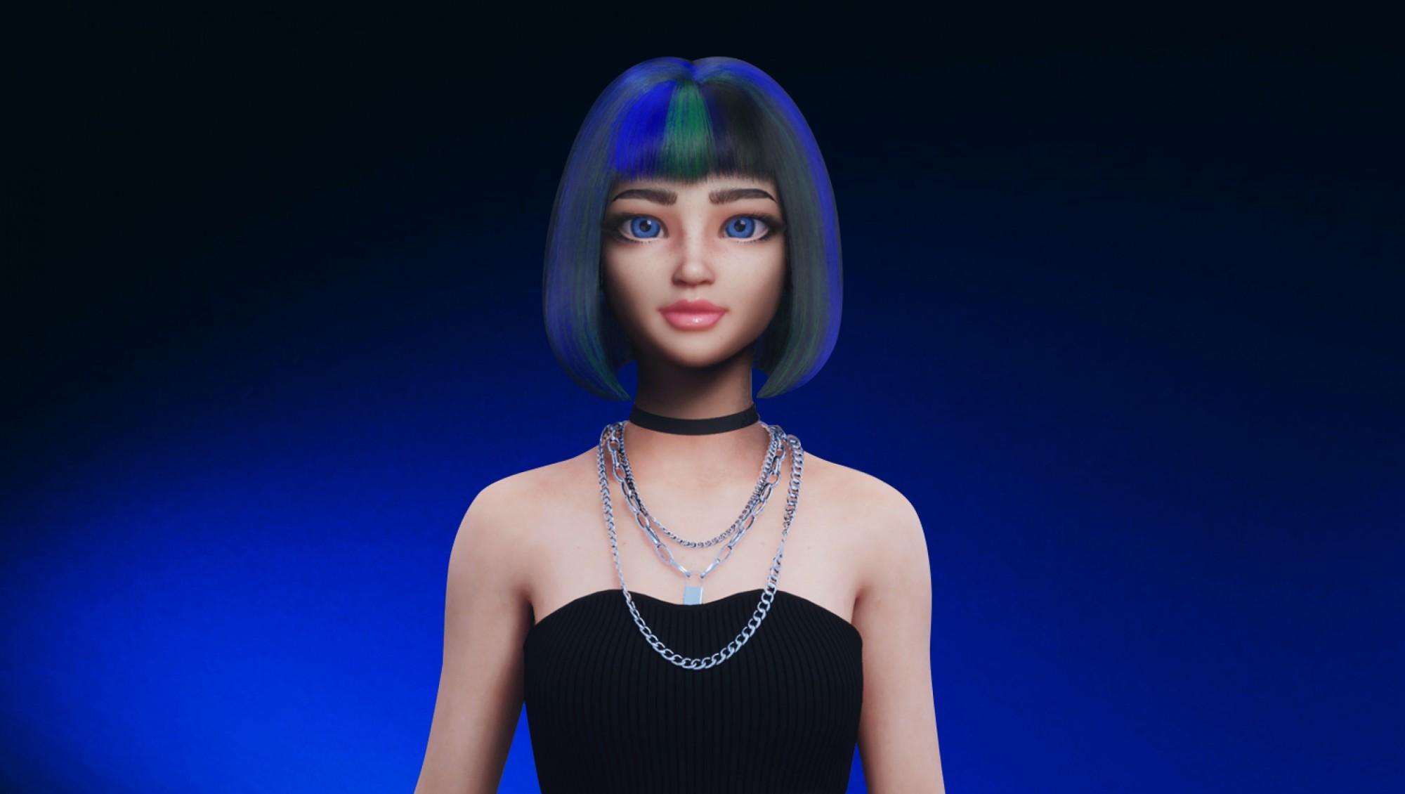 На платформе Visper появились два новых аватара: мужчина Пётр и анимационная девочка Матильда