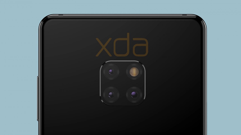 Huawei Mate 20 получит тройную камеру с необычным расположением3
