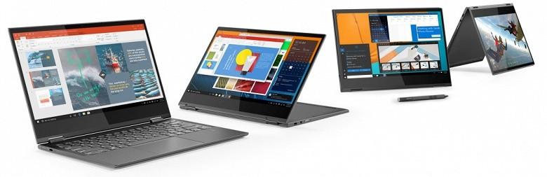 Lenovo показала первый лэптоп на Snapdragon 8502