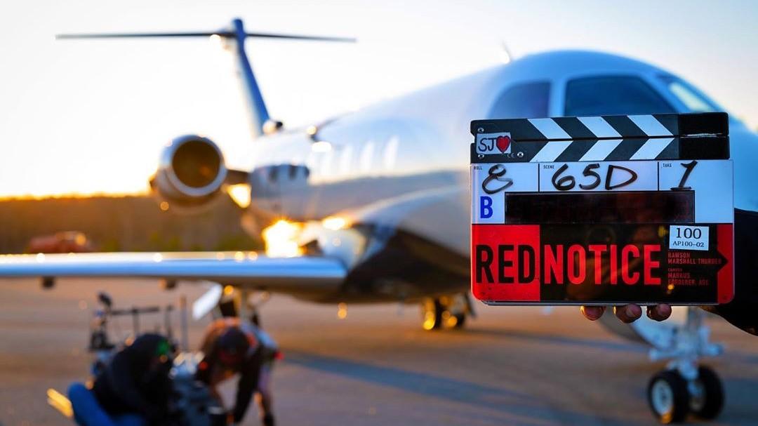 Стартовали съёмки фильма «Красное уведомление» для Netflix